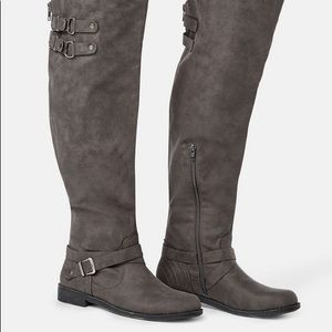 Brand New JustFab Carmona Knee High Boots
